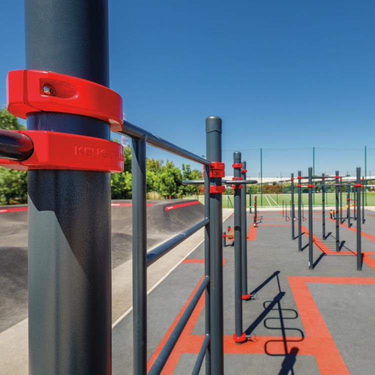 Sport parc pour les collectivités Kenguru Pro