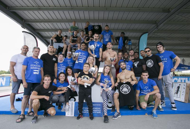 Partenaire officiel de la Fédération Mondial de Street Workout Sport Parc